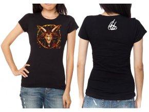 Tričko dámské-666