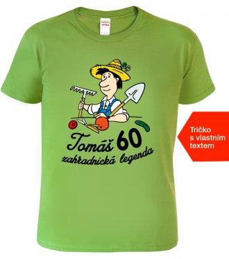 Tričko k 60. narozeninám