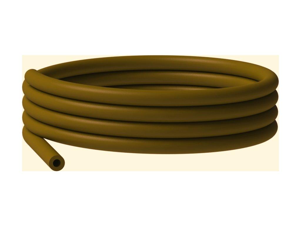 Silikonová hadička hnědá (1,5m)