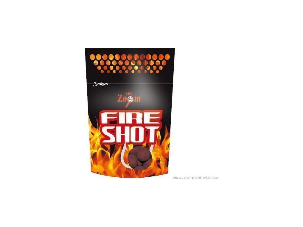 Fire Shot Boilies - 120 g/20 mm/Oliheň
