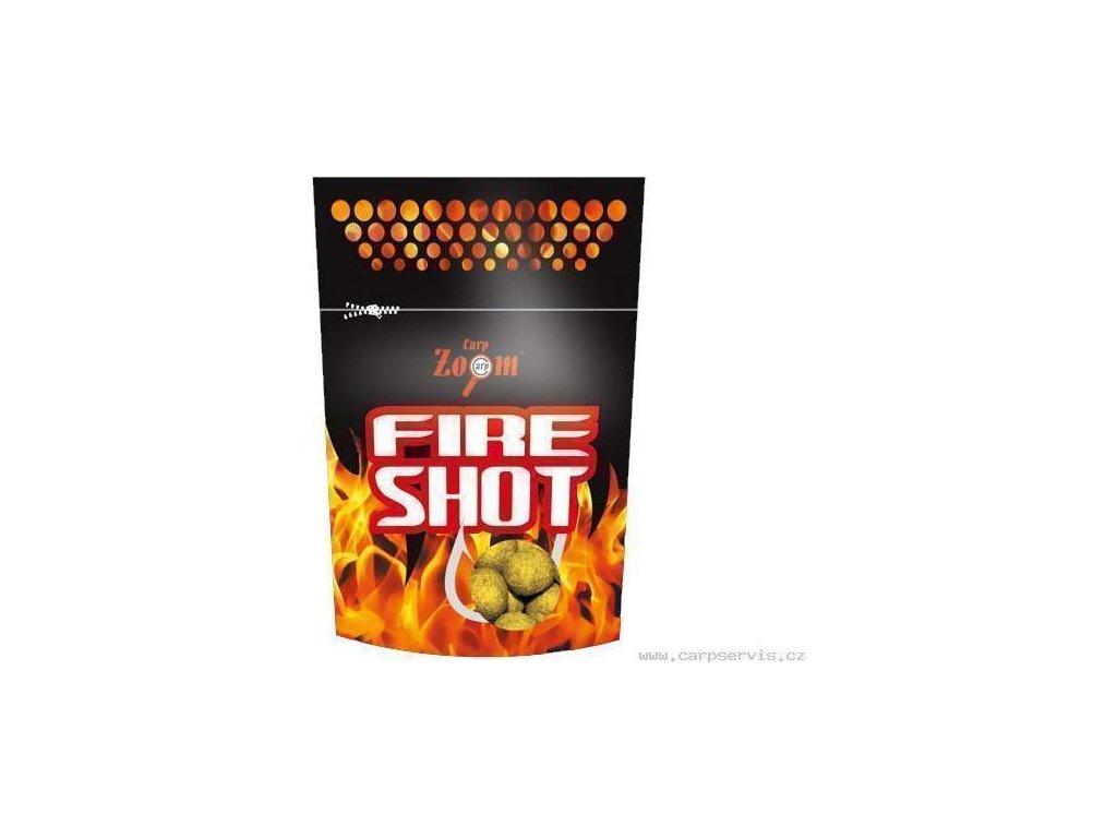 Fire Shot Boilies - 120 g/20 mm/Ananas