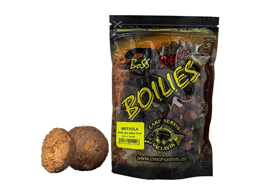Boilies Boss2 SPECIÁL - 200 g/20 mm/Mrtvola