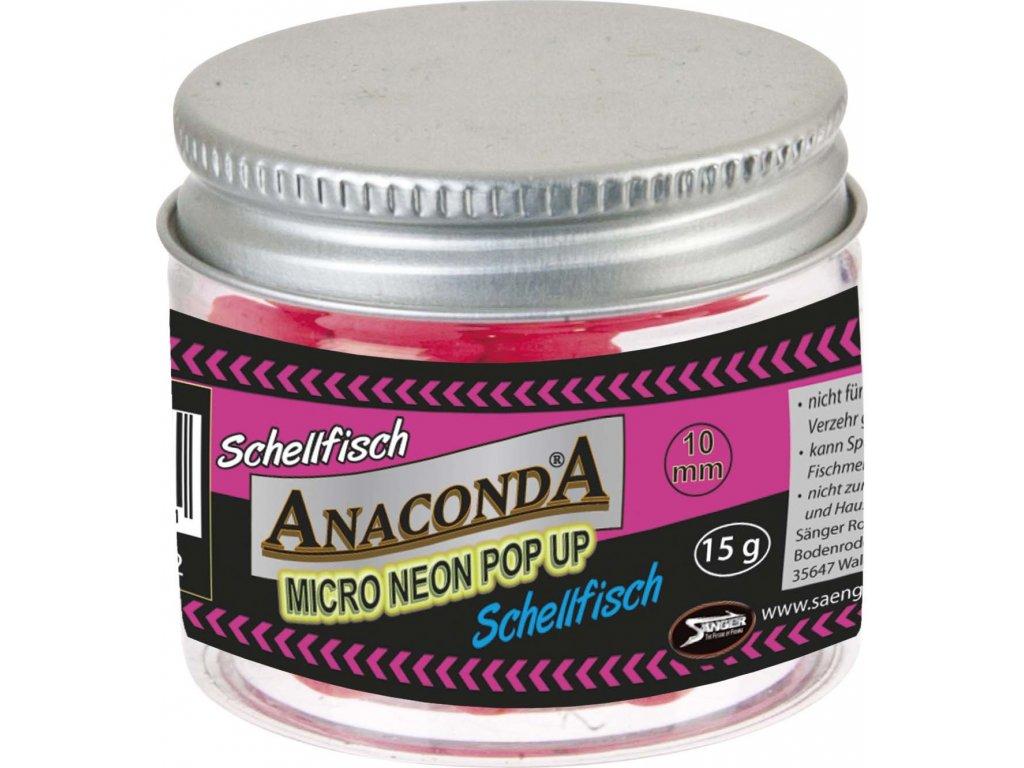 Micro neon pop-up s příchutí Anaconda Příchuť Treska