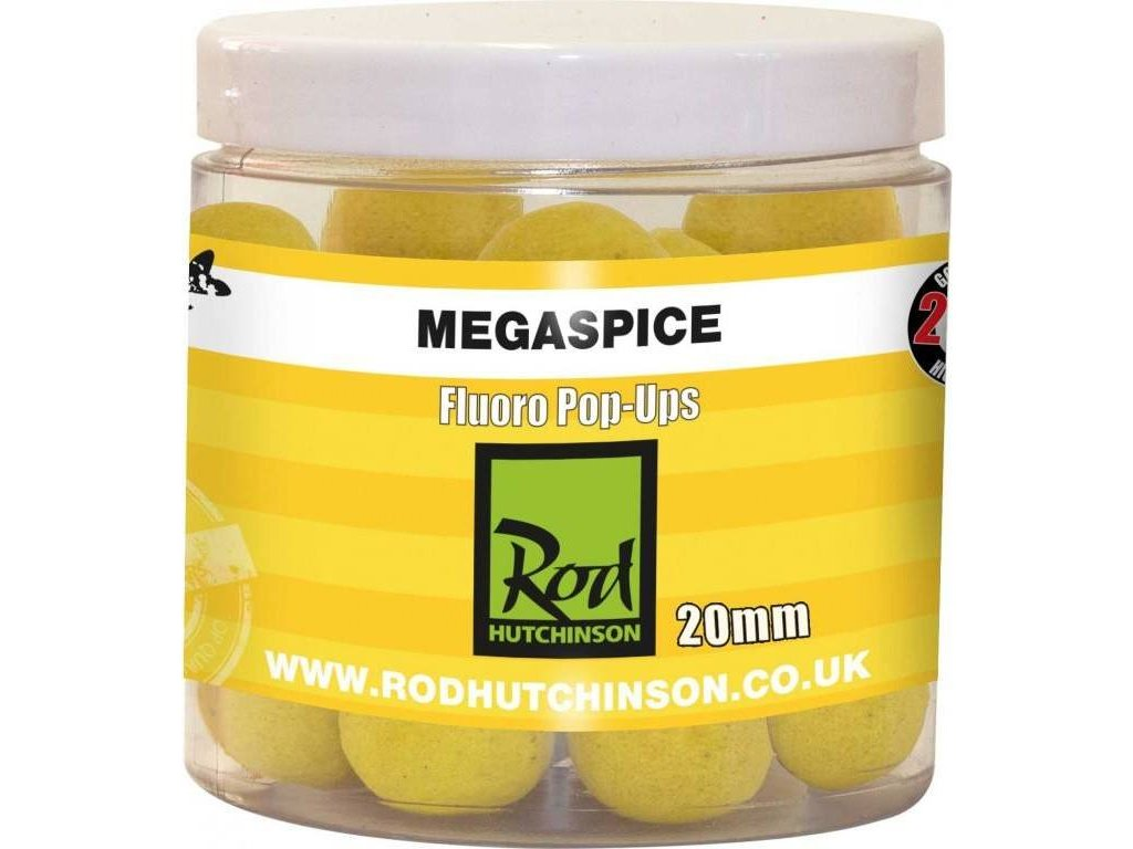 RH Fluoro Pop-Ups Megaspice with Natural Ultimate Spice Blend 20mm