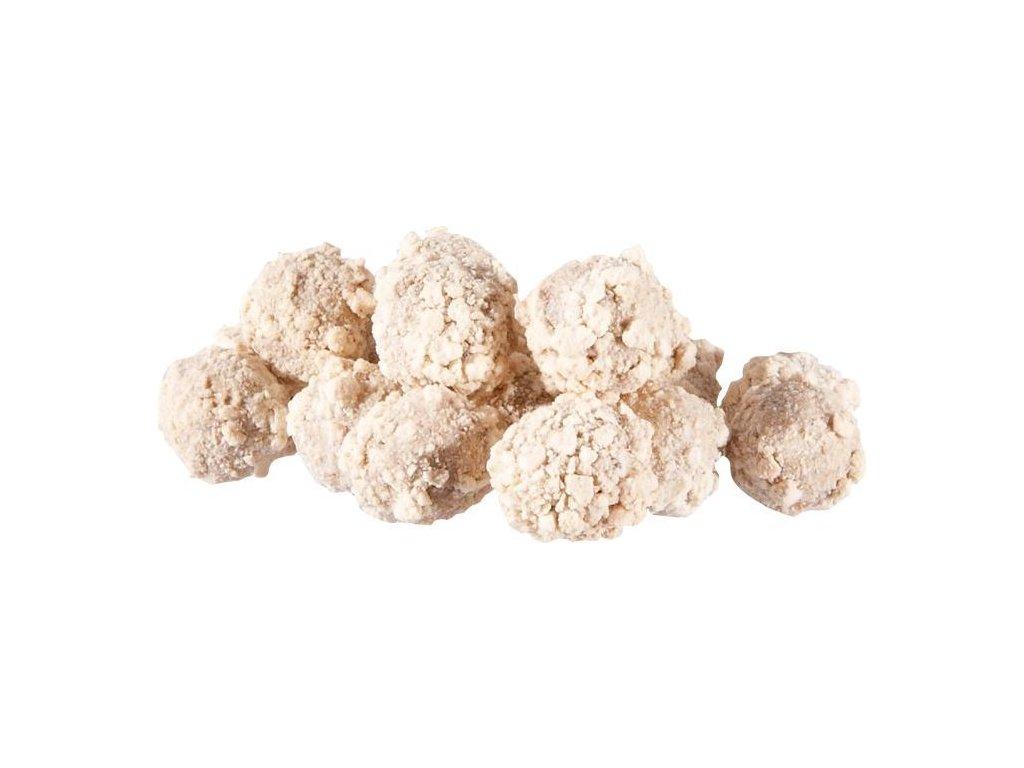 MS Range křupavé boilies Fluo crispy boilies  Příchuť kokos