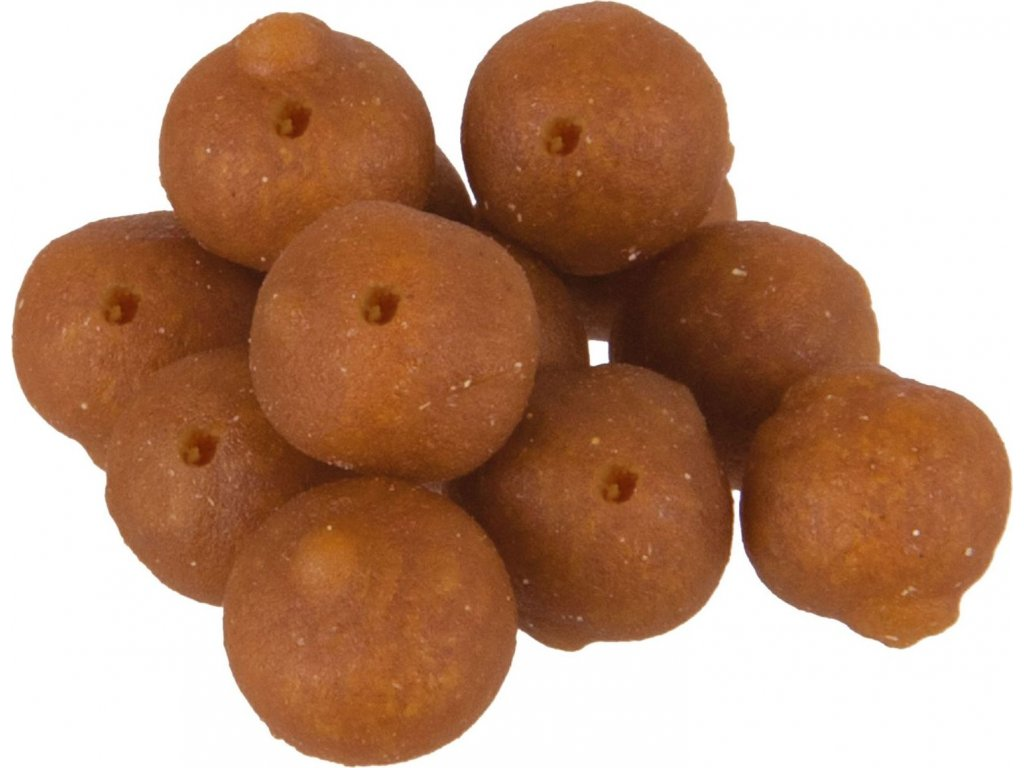 MS Range Mini Boilies Serie 8mm Příchuť Karamel - kokos