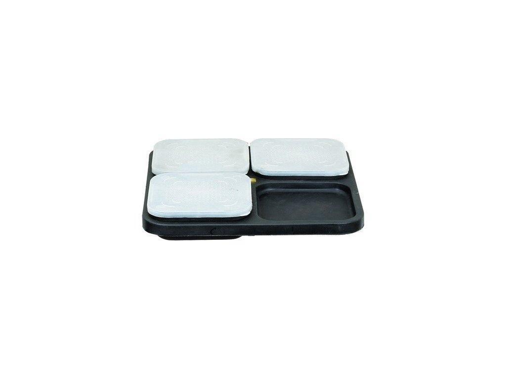 JAF Capture Set stolku a plastových krabiček na nástrahy Boxes Set