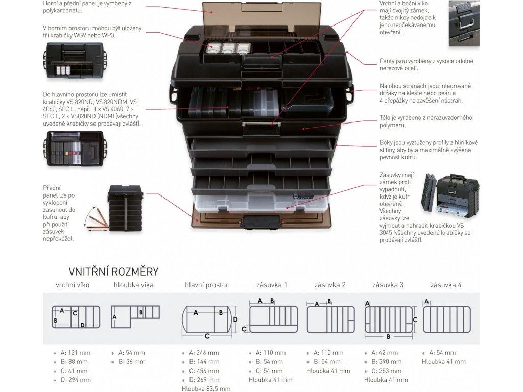 VS 8050 černý