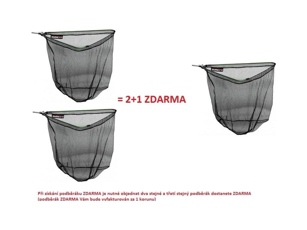 Podběrák skládací AL 2,0m/2d AKCE 2+1 ZDARMA