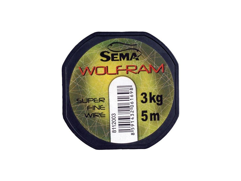 Wolframové lanko 3kg (5m)