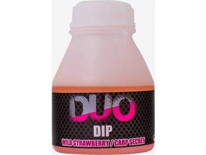 LK Baits DUO X-Tra Dip Wild Strawberry/Carp Secret 200ml