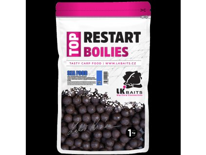 LK Baits Top ReStart Boilies Sea Food 30 mm, 1kg