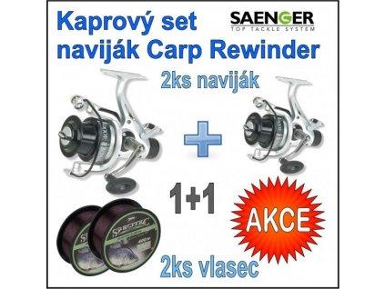 Kaprový set naviják Saenger Carp Rewinder : 60