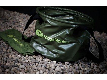 RidgeMonkey skládací vědro Collapsible Water Bucket MK2| 10l