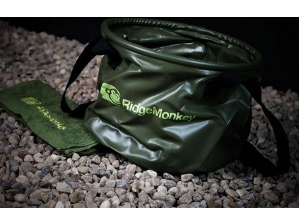 RidgeMonkey skládací vědro Collapsible Water Bucket MK2| 15l