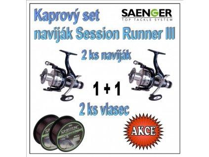 Kaprový set naviják Session Runner III : 50