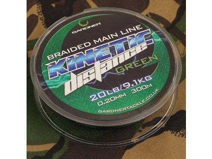 Splétaná šňůra Kinetic Distance Braid 300m, 20lb (9,1kg) 0.20mm
