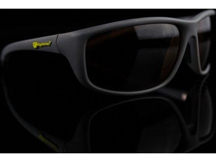 RidgeMonkey Brýle Pola-Flex Smoke Grey
