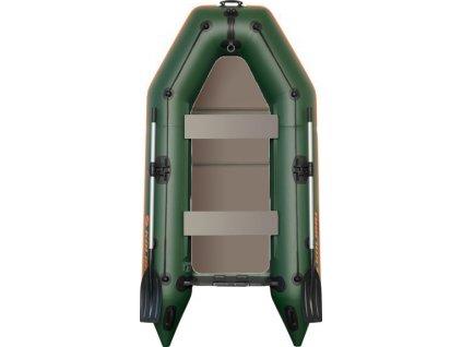 Člun Kolibri KM-330 P zelený, pevná podlaha