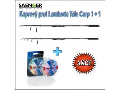 Kaprový prut Lamberta Tele Carp 1 + 1