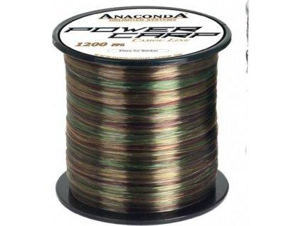 Vlasec Anaconda Power carp camou line 3000m průměr: 0,30 mm