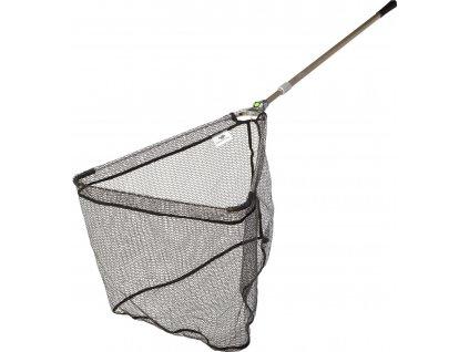 Podběrák Strong Alu Rubber Landing Net 2,2m, 60x60cm