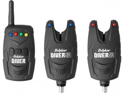 Sada signalizátorov Delphin DIVER 9V