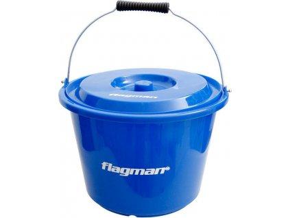 Flagman plastová míchačka s víkem 12l