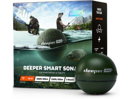 Deeper Fishfinder Chirp+ Vánoční edice