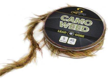 Carp Spirit Camo Weed Lead Core 5 m/20,4 kg zelený