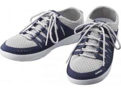 Shimano Evair Boat Shoes vel. 44,5, tmavě modré