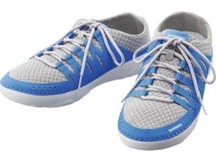Shimano Evair Boat Shoes vel. 39, světle modré