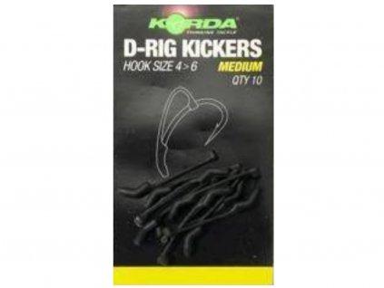 KORDA Rovnátka Kickers D Rig Green 10ks XL