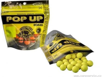 Pop Up Boilies - 60 g/20 mm/Neutrál (žlutá)