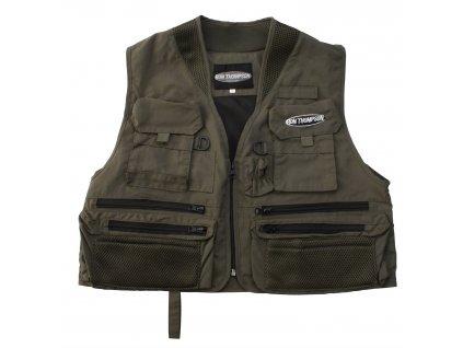 Muškařská vesta R.T. Ontario Fly Vest Dusty Olive
