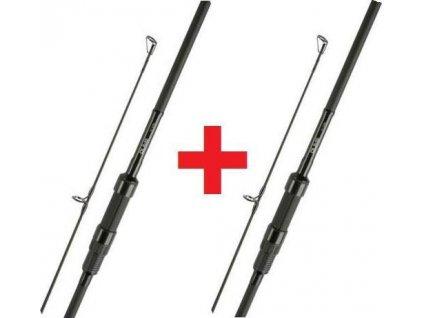 TFG kaprové pruty DL Black Edition Carp Rods 1 + 1 zdarma 12' 2,75 lb (TFG-DLBE-2.75)