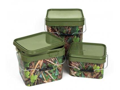 Behr kamuflážové kbelíky na krmení