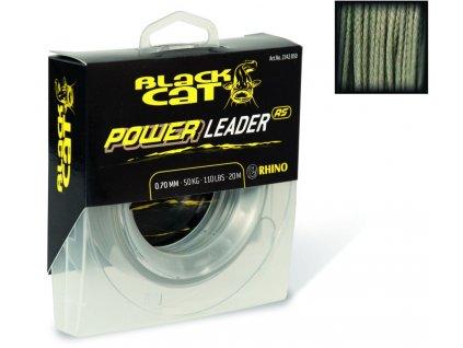 Black Cat Návazcová šňůra Black Cat Power Leader RS 20m