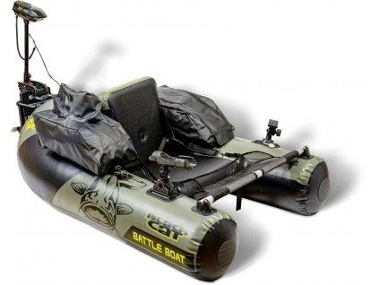 Člun BLACK CAT Battle Boat s Elektromotorem