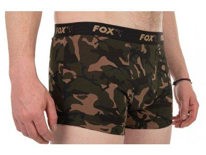 Fox Trenýrky Camo Boxers 3ks