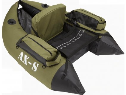 Sparrow Belly Boat AX-S DLX Olive