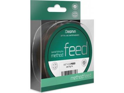 Delphin METHOD FEED 150m/hnědá