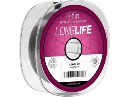 FIN FACTOR LONG LIFE  100m/šedá