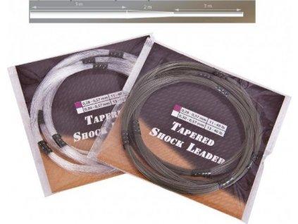 Šokový návazec Anaconda Camou / Fluoro Shock Leaders průměr: 0,30 mm, fluoro