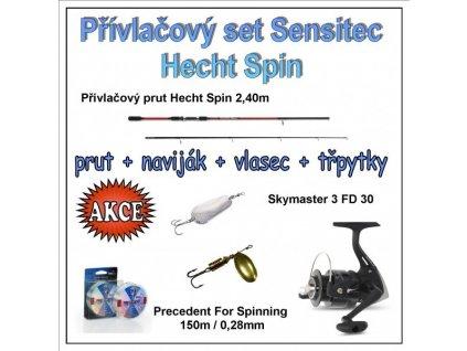 Přívlačový set Sensitec Hecht Spin