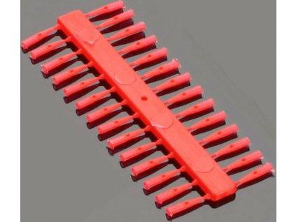 Stopery - METHOD FEEDER - PUSH STOP / RED (červené)