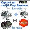 Kaprový set naviják Saenger Carp Rewinder : 70