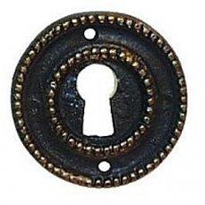 ŠTÍTEK KLÍČOVÝ Ø 32mm - lité kování