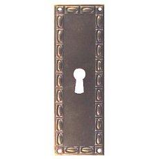 ŠTÍTEK RAŽENÝ 100x33mm s otvorem pro klíč