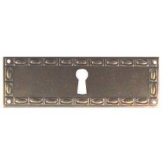 ŠTÍTEK RAŽENÝ 33x100mm s otvorem pro klíč
